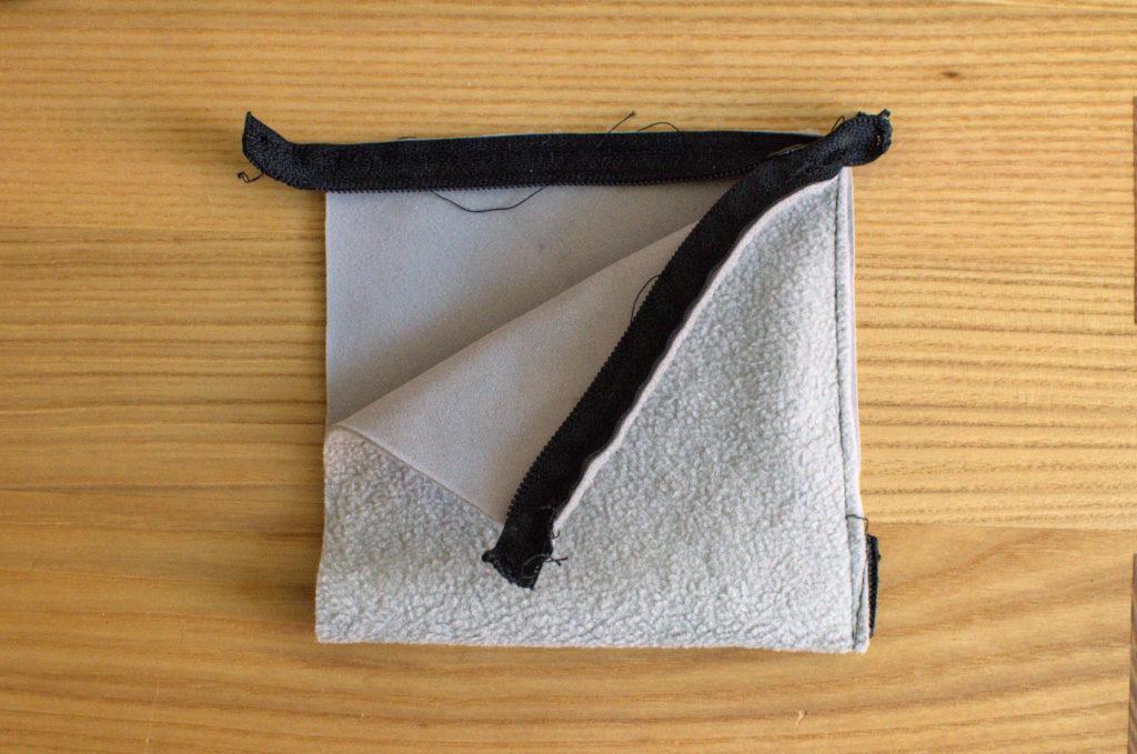 Die unfertige Pyramidentasche